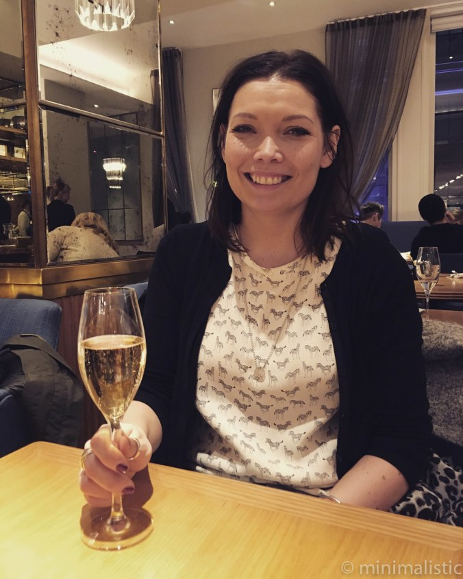 champagne o'clock at Selfridge's